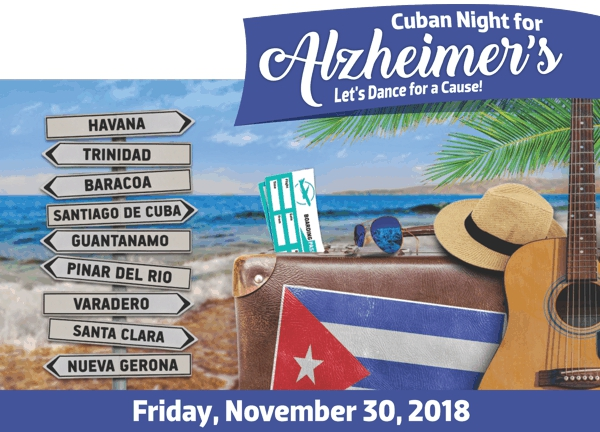 Cuban Night for Alzheimers